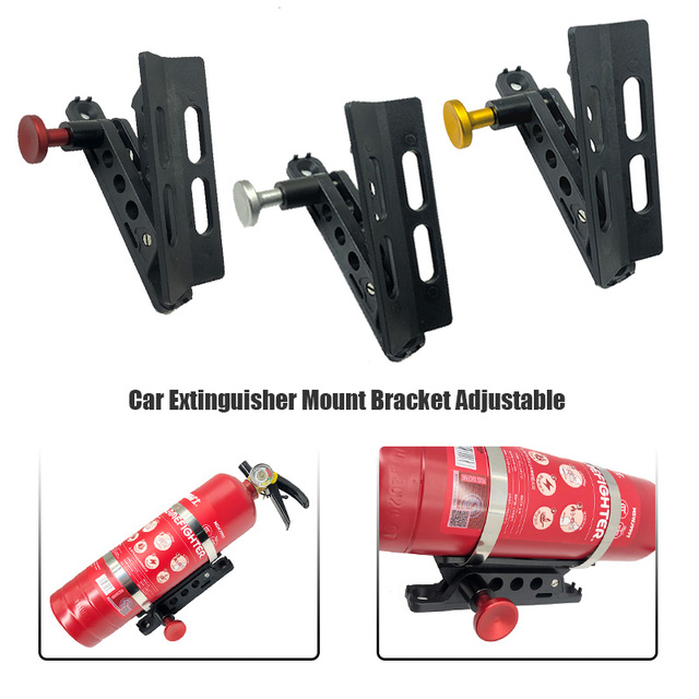 support d'extincteur monté sur barre de rouleau, pour Can Am maverick x3 pour Polaris RZR 800 900 1000 xp Ranger pour Jeep TJ JK JL 1