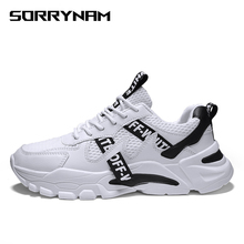 Sorrynam Summer Air Mesh Sneakers Men Casual Shoes Women White Man Trainers Footwear Breathable Tenis Masculino Adulto