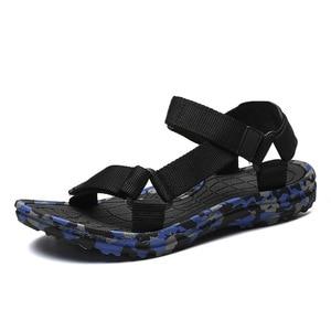 Image 5 - SHOFORT Scarpe Da Uomo Traspirante Selvaggio Degli Uomini Sandali Sandali Freddi Scarpe Da Spiaggia degli uomini di Estate Più Il Formato di Moda Allaperto Casual Zapatos De hombre