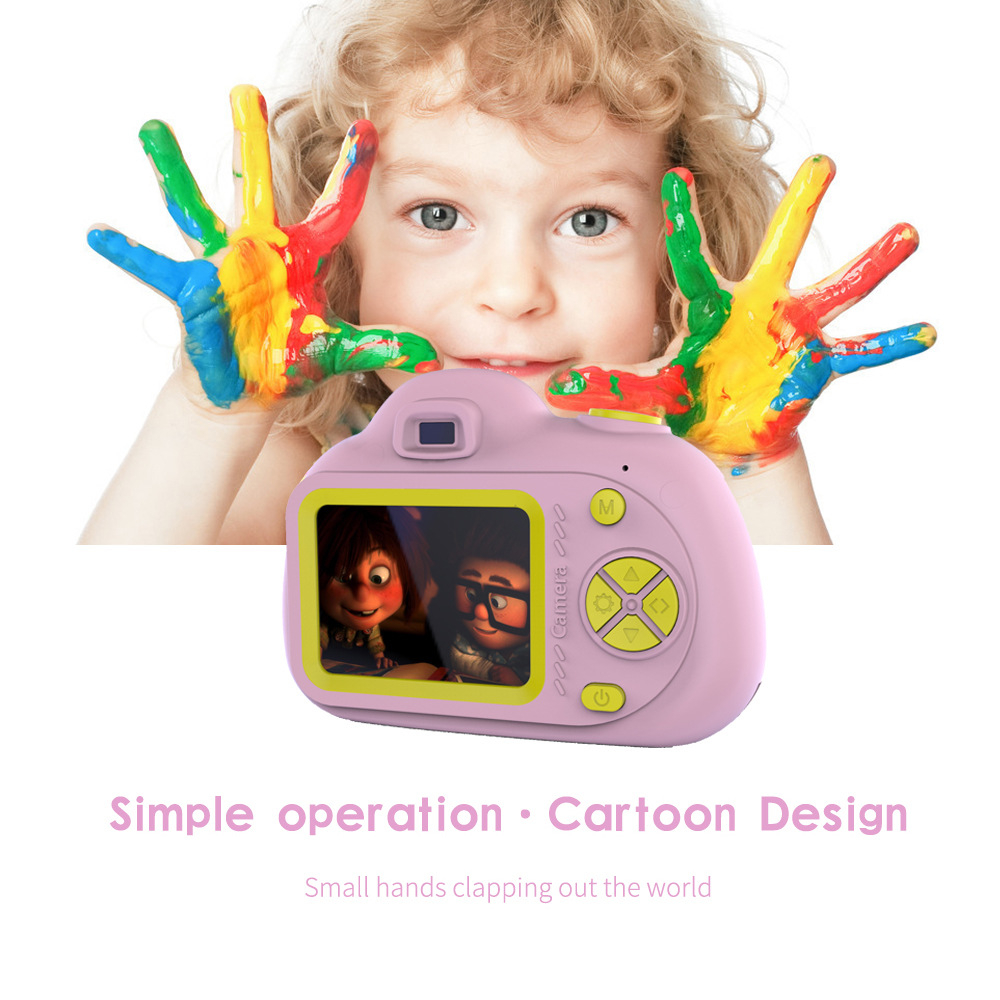 Hbd707d7ed1ae48ee91909d701c7161d1j KIds Camera HD Child Camera Mini Digital Toy Camera Photography Children Educational Toddler Toy Photo Camera For Children Gifts