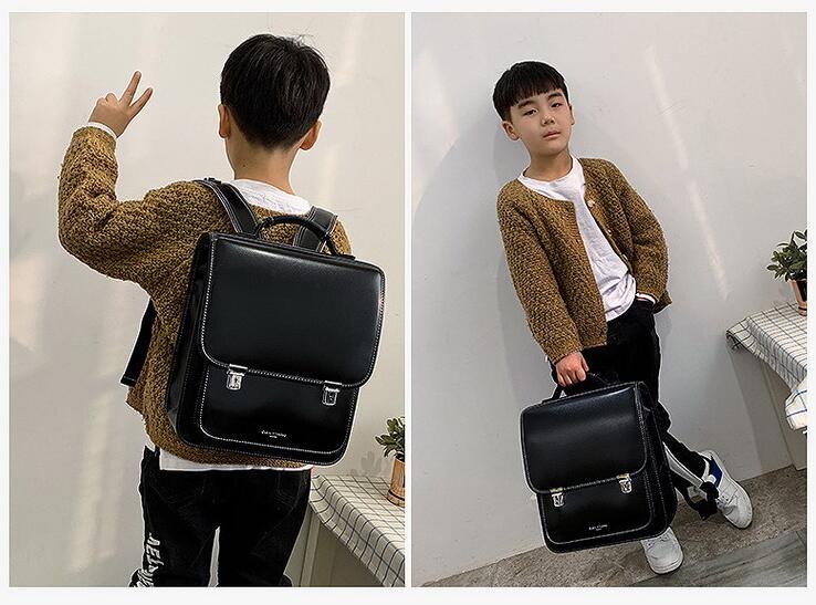 Japan Schule Rucksack für jungen kinder Orthopädische rucksack buch taschen Kinder PU Japan schule Tasche studenten rucksack tasche für mädchen