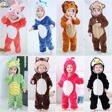 Carter – combinaison à manches longues pour enfant, barboteuse pour bébé garçon et fille, Animal de dessin animé, tigre Lion, printemps et hiver