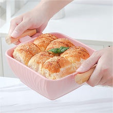 Скандинавская бинауральная керамическая миска для супа Салатница