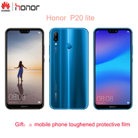 honor P20 Lite Cell Phone Kirin 659 5.84 Nova 3E FHD 4GB RAM 64GB ROM Face unlock Dual Lens Camera