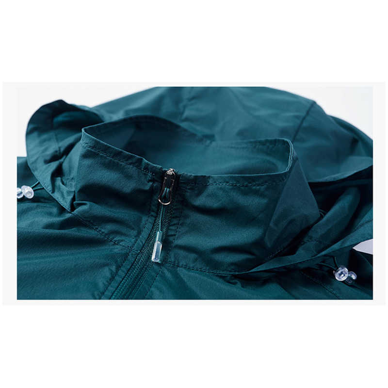 Verão com capuz casaco masculino secagem rápida proteção solar casacos de proteção solar e uv jaqueta pele dos homens 2020 chegada nova pele jaquetas
