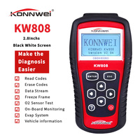 Professional Car OBD2 Scanner KW808  Car Diagnostic Tools Auto Code Reader Check Engine Light tools for all cars since 1996