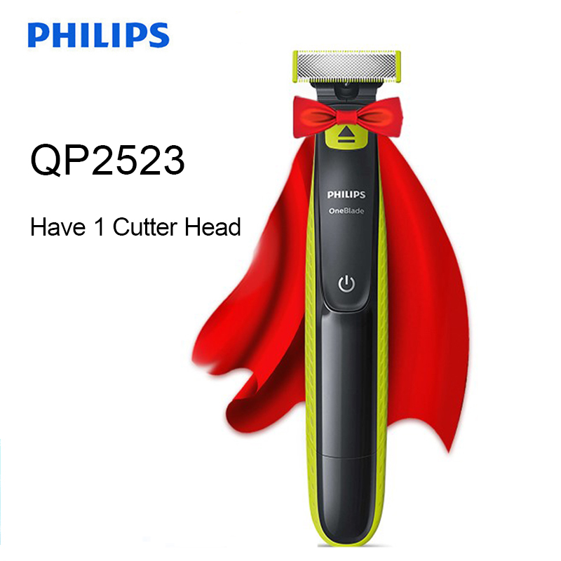 Philips QP2523 Electric Shaver With Use The Dual-sided Blade Rechargeable OneBlade Shave Any Length Of Hair In Wet & Dry For Men