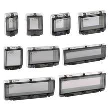 2020 neue Produkte IP67 PC Wasserdichte Fenster Abdeckung, Circuit Breaker Schalter Schutz Fenster Abdeckung, Wasserdichte Box Fenster Abdeckung