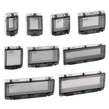 2020 nowe produkty IP67 PC wodoodporna pokrywa okna wyłącznik instalacyjny ochrony pokrywa okna wodoodporne pudełko pokrywa okna tanie i dobre opinie CNYAFA CN (pochodzenie) YF0402B-0418B Iso9001 Rohs