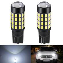 2x T10 led bulb W5W 168 194 Turn Signal License Plate Reading Light 6000k White Auto For Ford Focus 1 2 Fiesta Mondeo Ecosport
