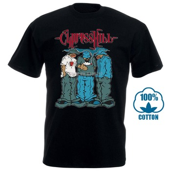 Cypress Hill Blunted (Black) T Shirt Christian T Shirt print bar cypress hill by graftio