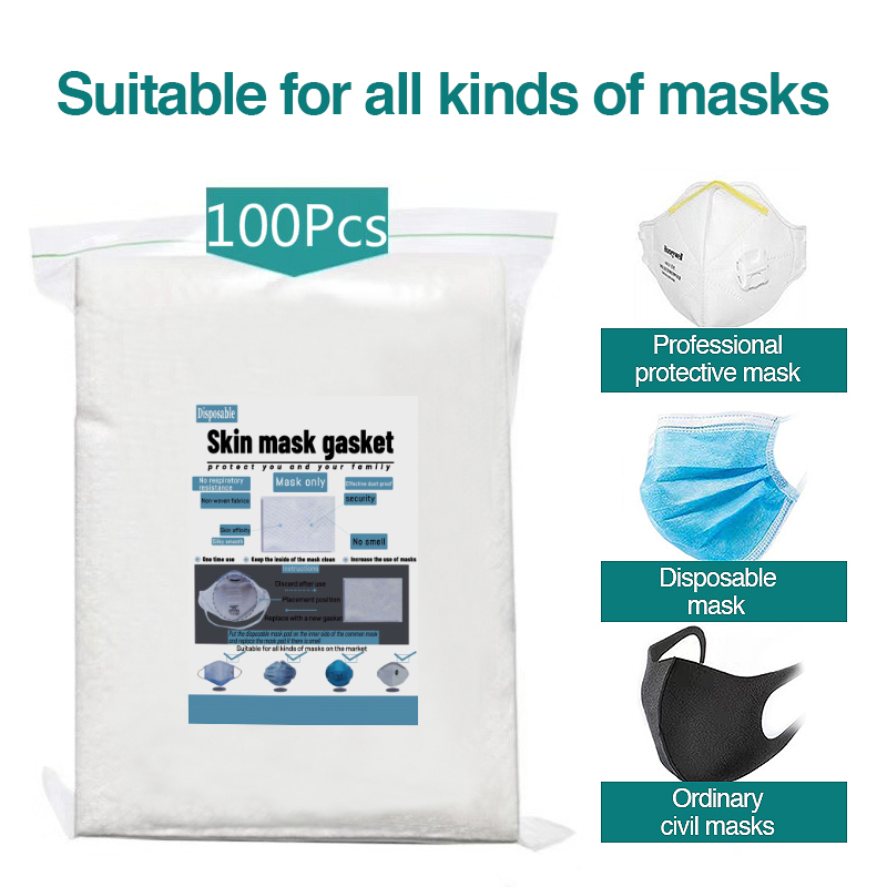 100pcs Disposable Filter Pad For Kids Adult Face Mouth Mask Respirator PM25 Suitable For N95 KN95 KF94 Ffp3 2 1 Protective Masks