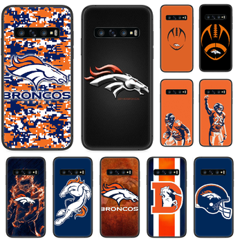 Rugby Denver Bronco Football Phone case For Samsung Galaxy S 10 20 3 4 5 6 7 8 9 Plus E Lite Uitra black Etui painting coque image