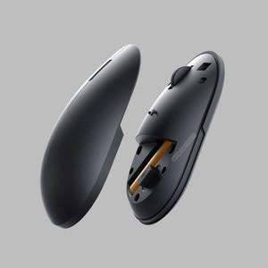 Image 4 - Original Xiaomi Drahtlose Maus 2 1000DPI 2,4 GHz /Bluetooth Optische Stumm Tragbare Licht Mini Laptop Notebook Büro Gaming maus