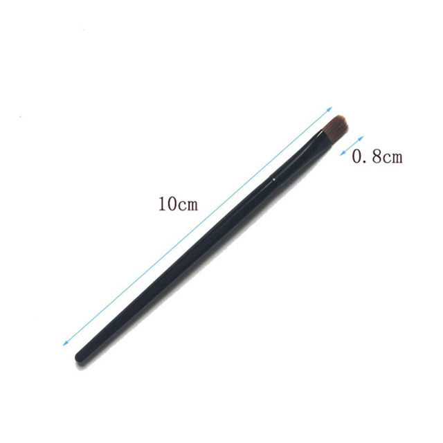 1/2/5PCS Lip Eyebrow Brush Beauty Round Makeup Brush Smudge Eye Shadow Concealer Brush Eyebrow Comb Makeup Accessories 5