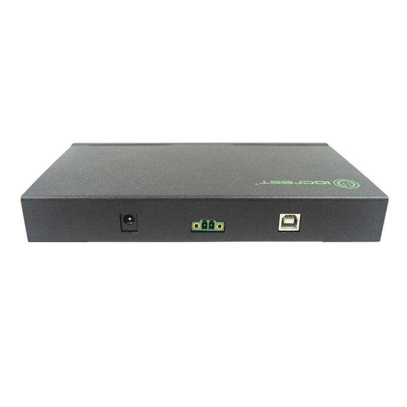Convertidor adaptador USB 2,0 a 4 puertos RS232 DB9 COM RS 232 multiplicador de puerto serie - 2