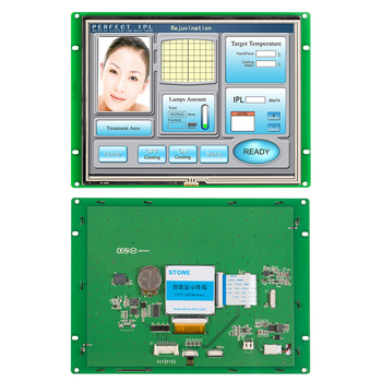 8.0 STONE TFT LCD Display Module with   Controller Board + Serial Interface for Industrial Control Panel printer control key board for hp 500 800 hp500 hp800 control panel assembly display