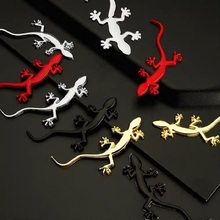 3D Metal Gecko Car Accessories Sticker For Audi Quattro Sline A3 A4 B6 B5 A1 B7 B8 A7