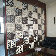 Подвесной разделитель для комнаты деревянные панели модные современные креативные классические гостиная занавес для ресторана экран 4 шт./лот
