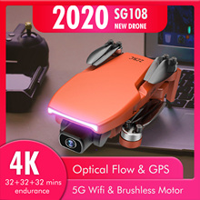 GPS Drone Wifi Fpv Dual-Camera L108 SG108 Flight Helicopter Profissional HD 4K with 5G