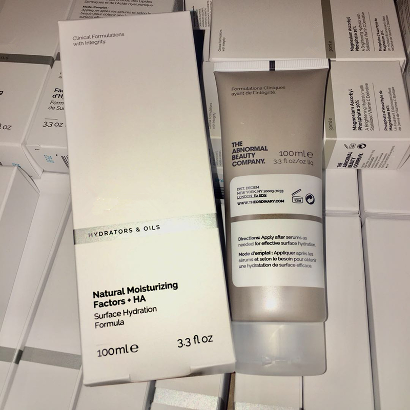 Натуральные увлажняющие факторы для макияжа лица + формула HA для увлажнения поверхности, основа под макияж лица, основа под макияж, обычный ...