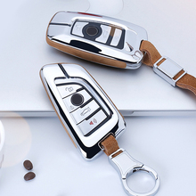 For BMW X1 X3 X4 X5 X6 E90 E60 E36 E93 F15 F16 F48 G30 F11 F30 High Quality Accessories Car Suede Leather Key Case Holder Cover boomblock zinc alloy car key cover case shell for bmw g30 f10 f30 f20 f52 g11 g12 for bmw x5 f15 x6 f16 x1 f48 x3 f25 x4 f26