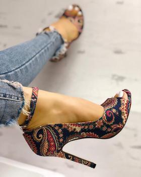 Women High Heels Pumps Sandals 2