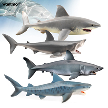 Animals Figure Shark Model,Marine whale animal figure collectible toys,Plastic Animal Learning Party Favors Toys for Boys Girls