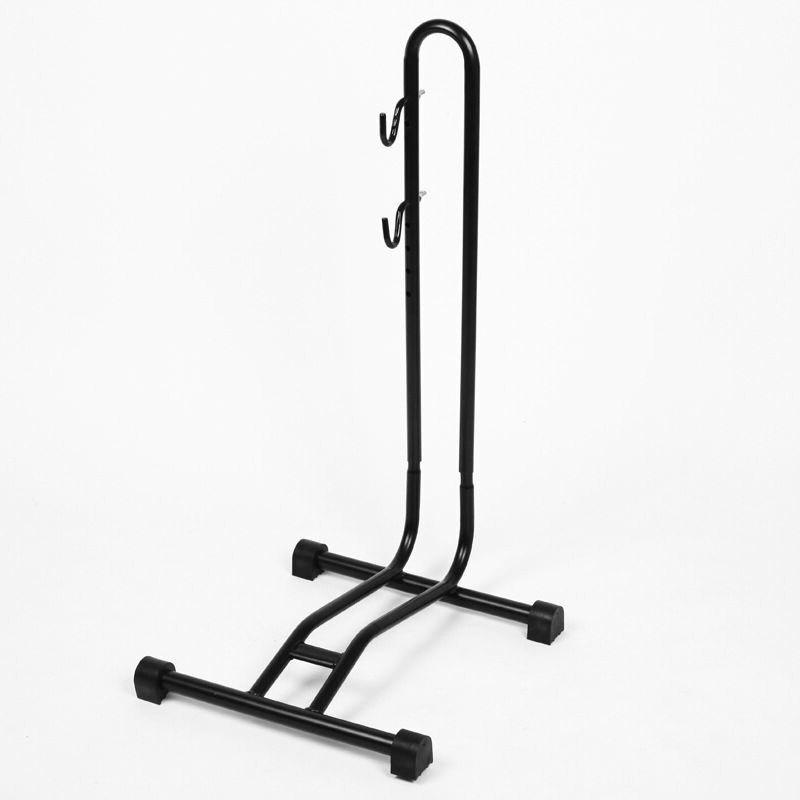 Hongsen Mountain Bike Insert Type Parking Rack L-Shape Showing Stand Maintenance Vehicle Accessories Support Frame Deconstructab