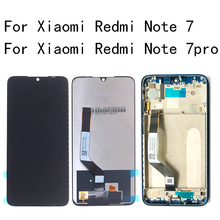 Original LCD For Xiaomi Redmi Note 7 LCD Display Touch Screen Digitizer Assembly for Redmi Note 7 Pro LCD Display with frame original for highsrceen power 5 pro lcd five pro display touch screen sensor complete digitizer with touch buttons assembly