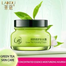 LAIKOU Face Cream Green Tea Essence Whitening Cream Moisturzing Face Cream Facial Anti Aging Wrinkle Oil Control Skin Care цена 2017