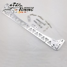 Tuning Monster Newest High Quality Billet Silver F7 reinforcement Subframe Brace For Honda Civic 1996 2000 EK