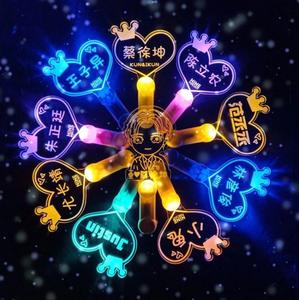 Light-Stick Cheer-Light Flashing Colorful Ce Concert Customized-Logo Factory New-Product