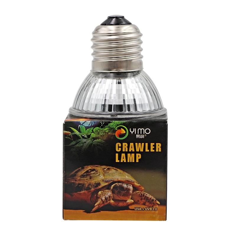 Image 3 - 25/50/75 w lâmpada réptil tartaruga basking lâmpadas uv lâmpada  de aquecimento anfíbios lagartos controlador temperaturaIluminação de  habitat
