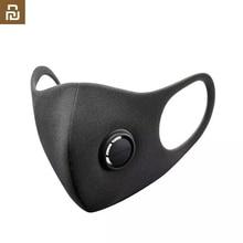 Stokta hızlı kargo Youpin Smartmi filtre maskesi blok 96% PM 2.5 havalandırma vana uzun ömürlü TPU malzeme Anti pus maskesi