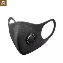 W magazynie szybka wysyłka Youpin Smartmi maska z filtrem blok 96% PM 2.5 zawór wentylacyjny długotrwała maska z tworzywa TPU Anti haze