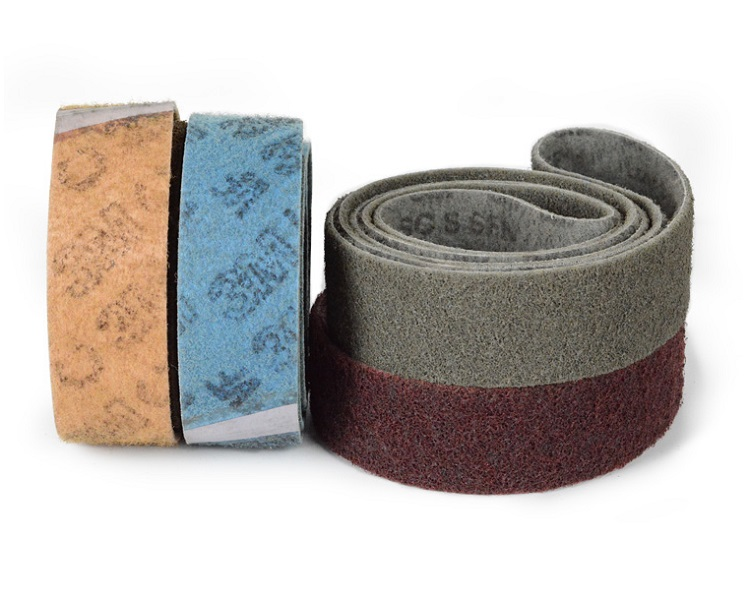New 2pcs 760*40mm Non-woven Nylon Abrasive Cloth Abrasive Sanding Belt On Metal Belt Grinder For Brushed Polishing Wire Drawing