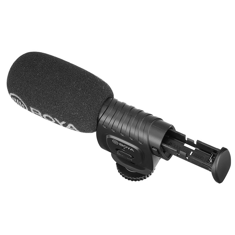 BOYA BY-BM3011 на камеру Запись микрофон для Canon sony Nikon DSLR камера смартфон 3,5 мм разъем холодной обуви Youtobe Vlog Mic