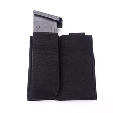 Tactical Molle Pouch Pistol Double Magazine Multicolor Nylon Mag Holder Military Airsoft Bag Hunting