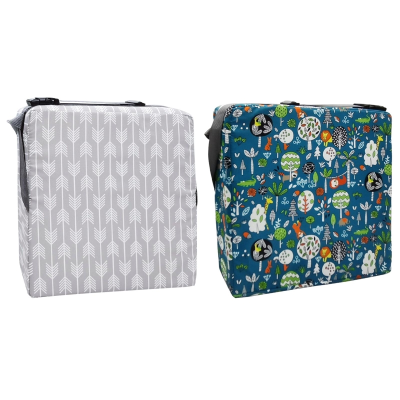 Portable Kids High Chair Pad Booster Travel Dining Room Adjustable Detachable Washable Thicken Sponge Seat Cushion