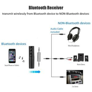 Image 4 - Bluetooth Receiver Audio Clip 3.5mm Car Wireless Speaker Headphone Adapter Wireless audio and video adapter