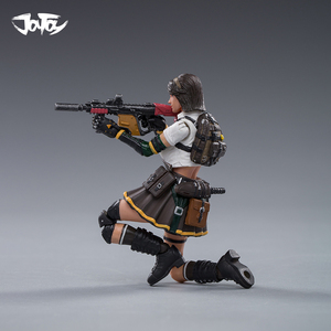 Image 4 - JOYTOY 1/18 CF action figure ZERO and KUI female soldier in game Cross Fire(CF) anime female figures