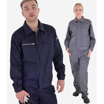 Working clothes set men woman Welding suits machine repair large size Coveralls protective safety work jacket cleaning uniforms