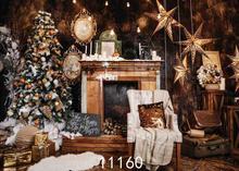 SHENGYONGBAO Vinyl Custom Photography Backdrops Prop Christmas day Christmas Tree Theme Photo Studio Background ST-14 цена