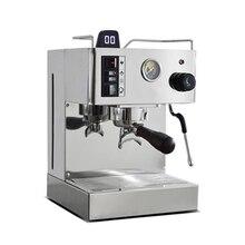 ITOP 1050 Вт Полуавтоматическая эспрессо-Кофеварка л нержавеющая сталь кофе-машина полукоммерческая Итальянская Кофеварка