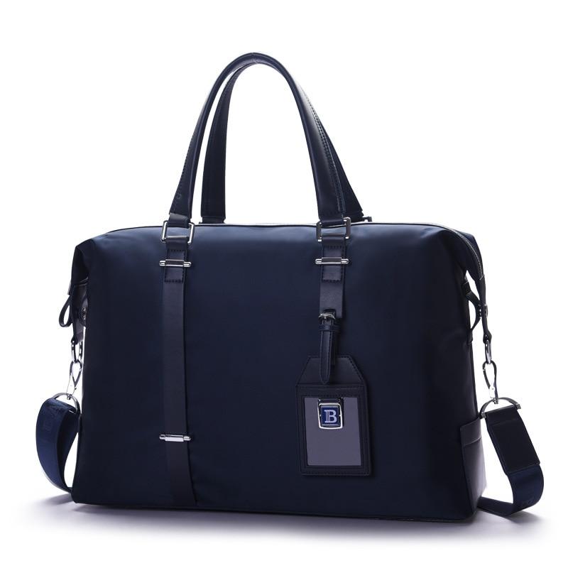 New Design Men's Business Briefcase Handbag Male Shoulder Cross Body Bag Laptop Bag Large Capacity Travel Bag For Man