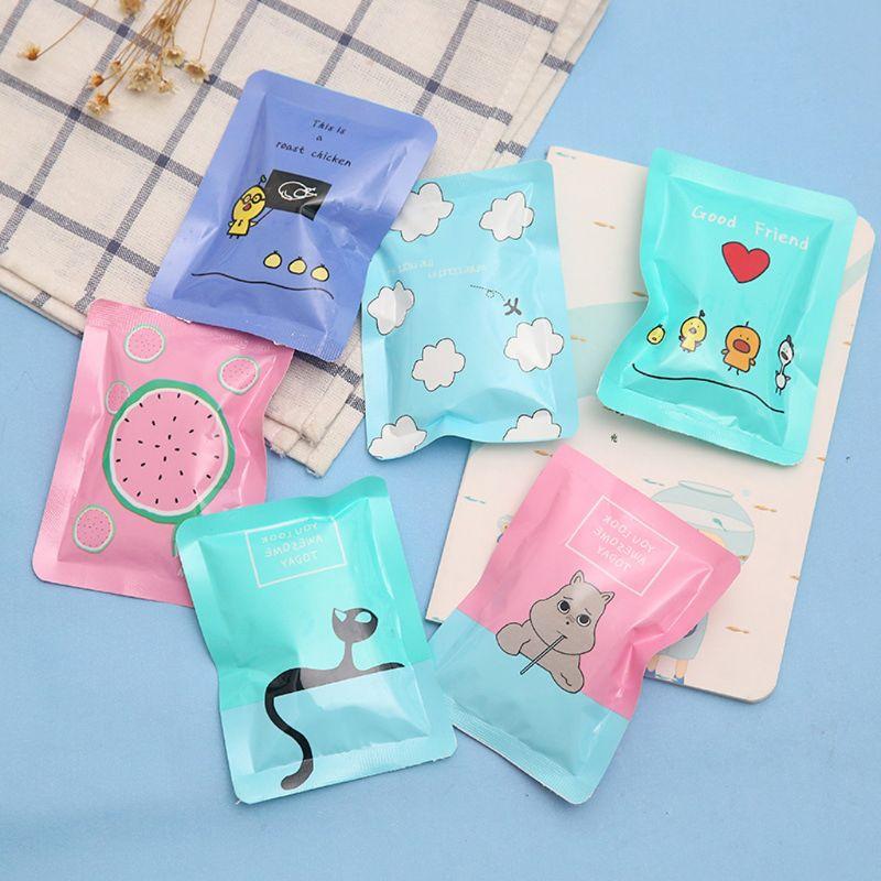1Pc Summer Reusable Mini PE Ice Pack Bag Travel Portable Cartoon Cooler Compress New