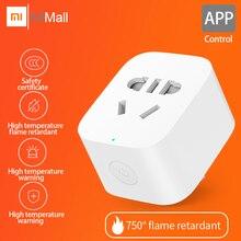 Оригинальная Xiaomi mi умная розетка ZigBee версия приложения wifi Пульт дистанционного управления таймер определение мощности с приложением умный дом mi Home