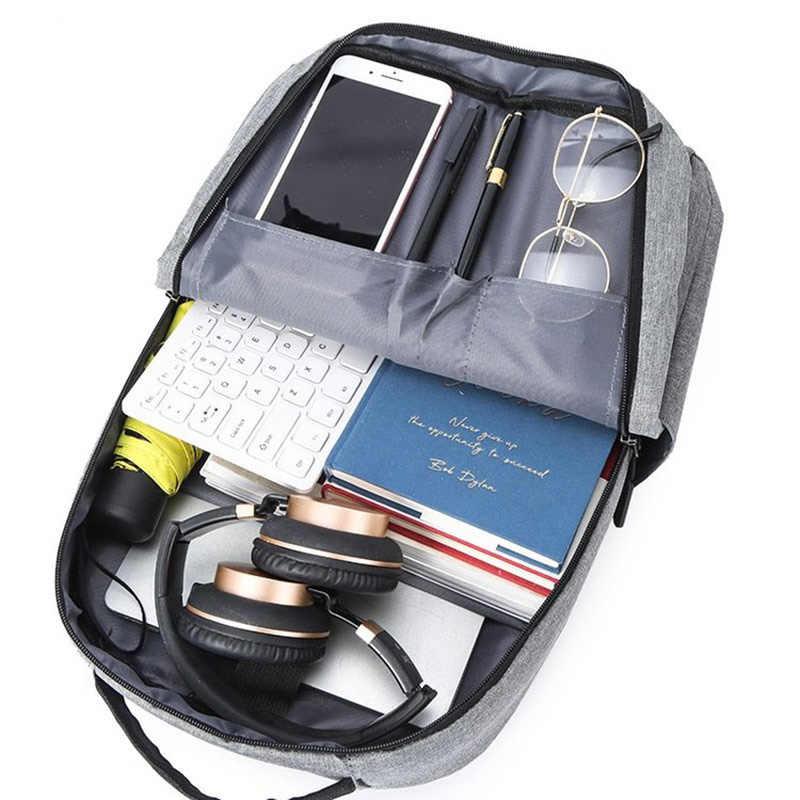 2020 seyahat sırt çantası büyük kapasiteli genç erkek Mochila anti-hırsızlık çanta USB şarj 15.6 inç Laptop sırt çantası su geçirmez 0P18