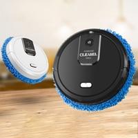 Aspiradora de carga rotativa de 360 ° para el hogar, aspiradora rotativa, Robot de barrido, barrido y arrastre de carga USB